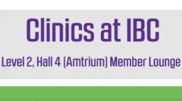 Get Pro Marketing Advice for Free – IABM Clinic at IBC 2016 in Amsterdam