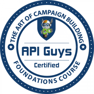 Cindy is API Guys Foundations Certified for Infusionsoft
