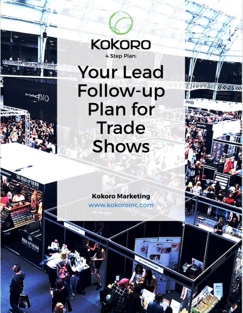 Download this 4 step Lead follow up system for Trade Shows