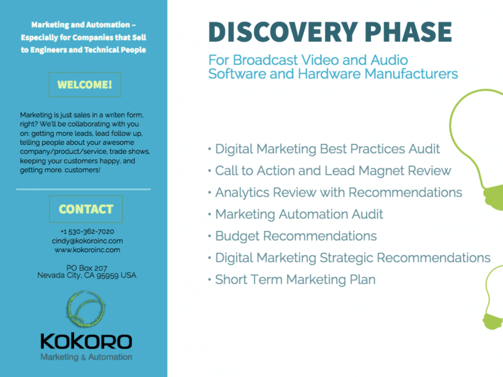 Kokoro Discovery Phase