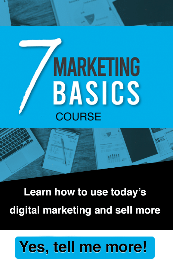 From marketing to sales course