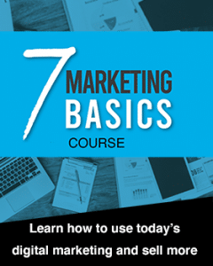 7 marketing basics course