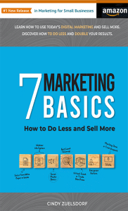7 Marketing Basics book cover #1 new release
