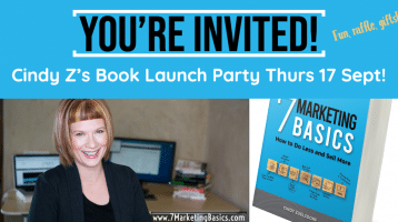 7 Marketing Basics Book Launch