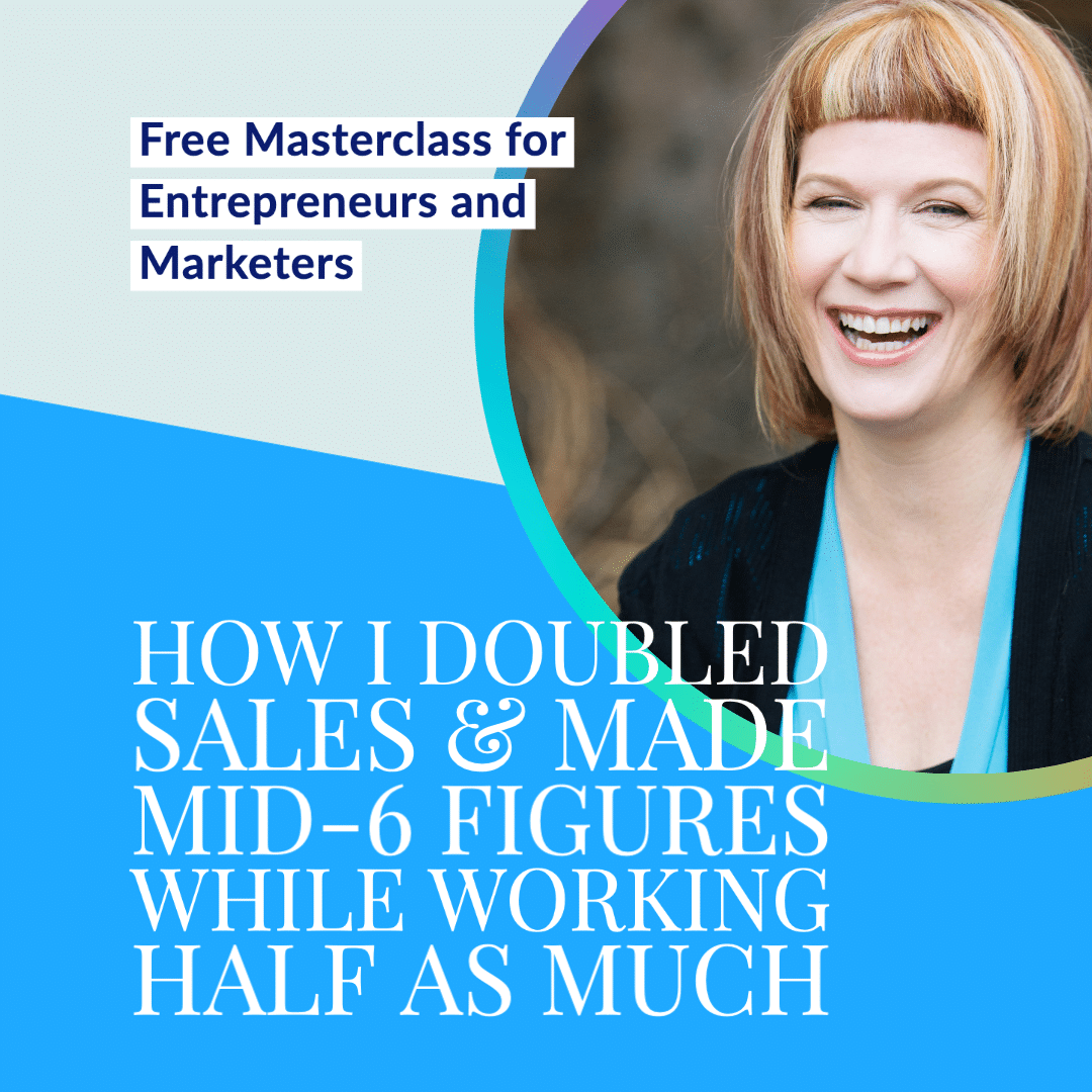 Free masterclass for entrepreneurs and marketers